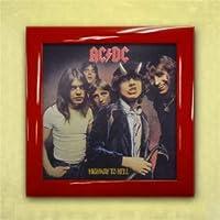 レコード フレーム LP フレーム LP 飾る インテリア アクリル UV レッド