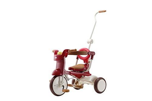 三輪車 iimo02 エタニティ・レッド 1062