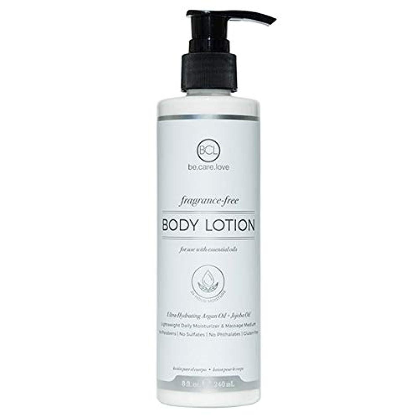 スキニークリーク壁[Be Care Love Naturals ] ケア愛のナチュラルなる無香料ボディローション - Be Care Love Naturals Fragrance-Free Body Lotion [並行輸入品]