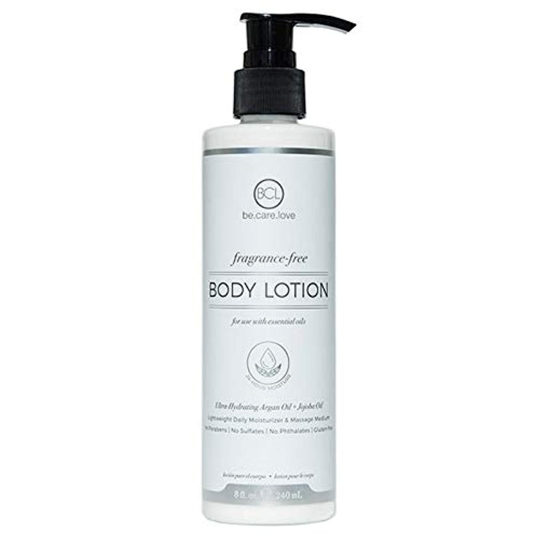 洞察力のある木曜日設計図[Be Care Love Naturals ] ケア愛のナチュラルなる無香料ボディローション - Be Care Love Naturals Fragrance-Free Body Lotion [並行輸入品]