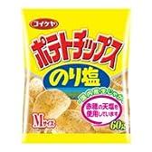 コイケヤ ポテトチップス のり塩 60g 24個