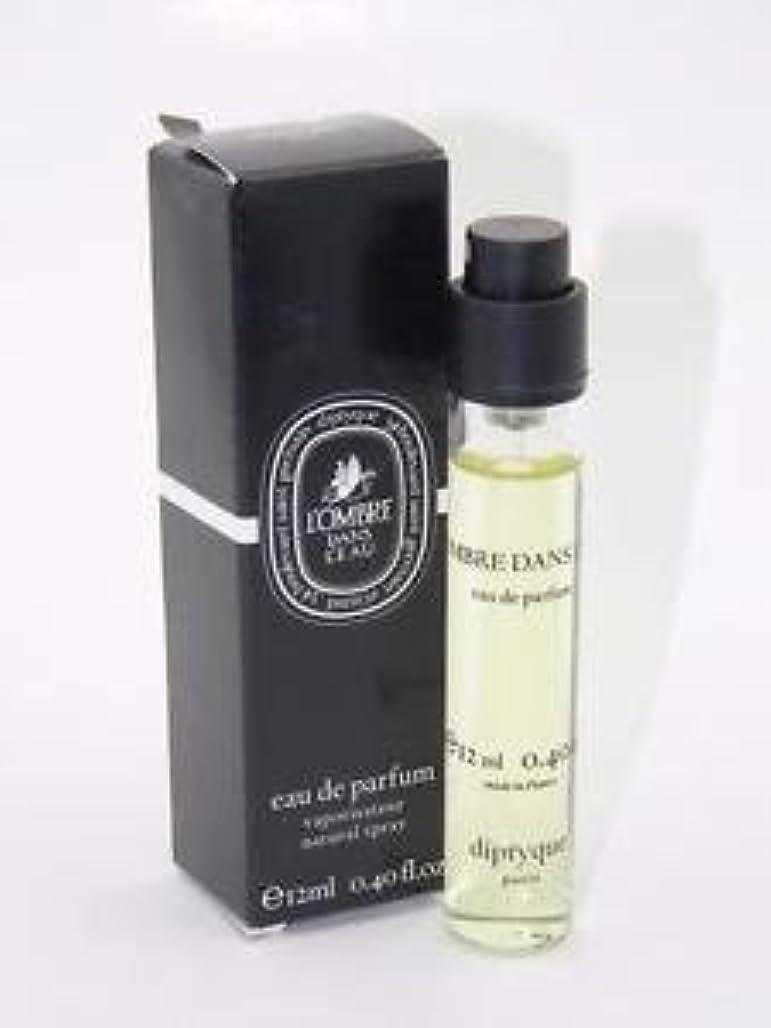 書き出す骨の折れる基礎Diptyque L'Ombre Dans L'Eau (ディプティック ロンブレ ダンズ ロー) 0.34 oz (10ml) EDP Travel Spray for Women