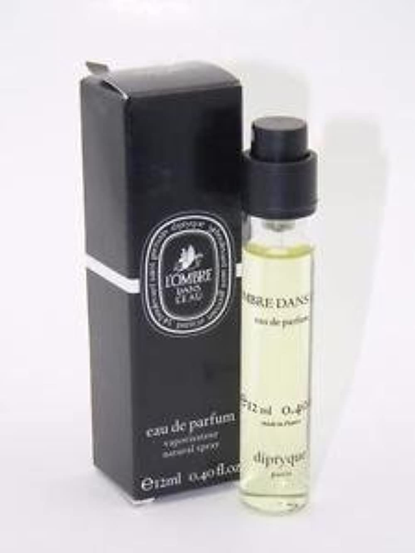 マンモスリベラル合併症Diptyque L'Ombre Dans L'Eau (ディプティック ロンブレ ダンズ ロー) 0.34 oz (10ml) EDP Travel Spray for Women