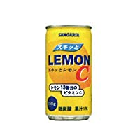 サンガリア スキッとレモンC 190g1箱30本