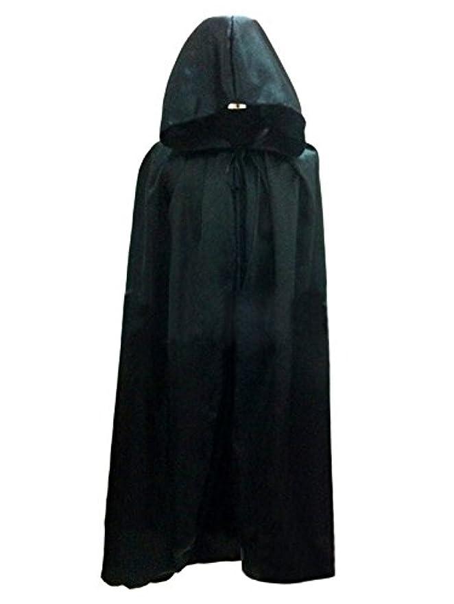 ごちそうロール所属[Jp-fashion]魔女 コスプレ衣装 フード付 ハロウィン 仮装 コスプレ マント クリスマス ブラック パープル レッド