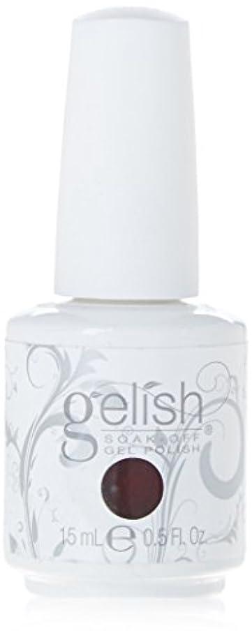 誤解固執受信機Harmony Gelish Gel Polish - Berry Buttoned Up - 0.5oz / 15ml