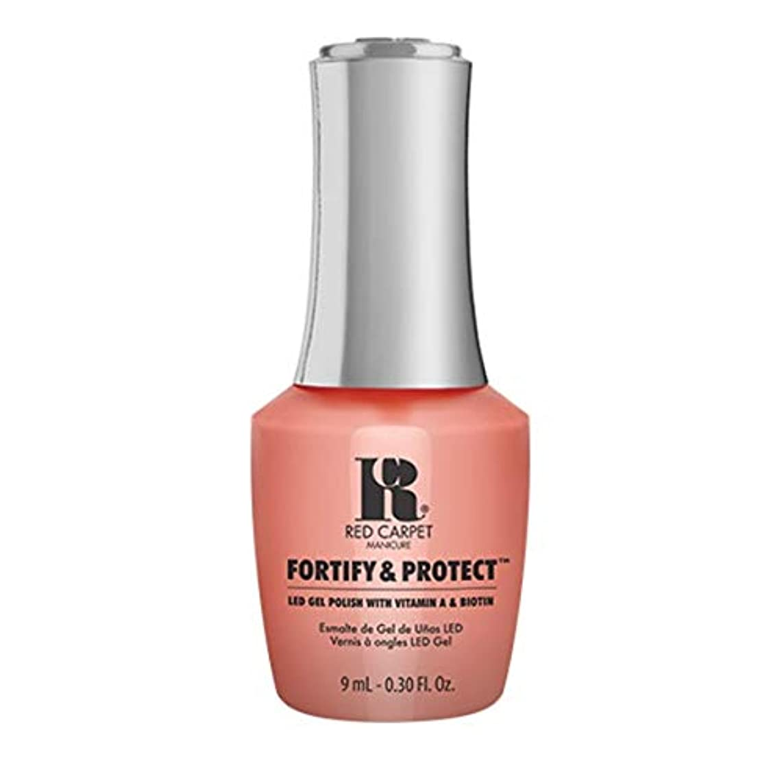 うぬぼれ悔い改める行商Red Carpet Manicure - Fortify & Protect - Sunset Cruising - 9ml / 0.30oz