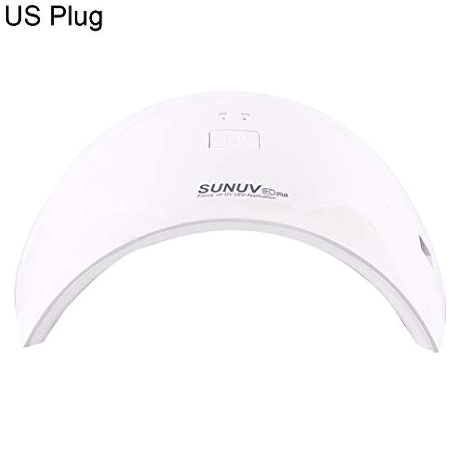 つかいますアメリカブラウスグレファイディンランプネイルマシンプロフェッショナルアーチ型形状36W UVライトLEDネイルドライヤー自動センサーゲルランプ - *EUプラグ