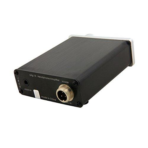 SMSL SAP-VI 高品質 ステレオオーディオ ポータブル ヘッドホンアンプ ヘッドフォンアンプ ACアダプター付き