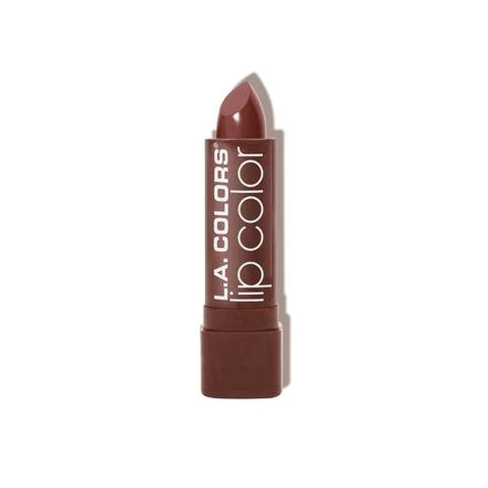 属する敬礼ラウンジ(6 Pack) L.A. COLORS Moisture Rich Lip Color - Taupe Envy (並行輸入品)