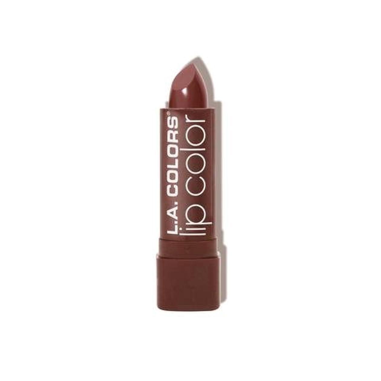 ラウズマージチラチラする(6 Pack) L.A. COLORS Moisture Rich Lip Color - Taupe Envy (並行輸入品)