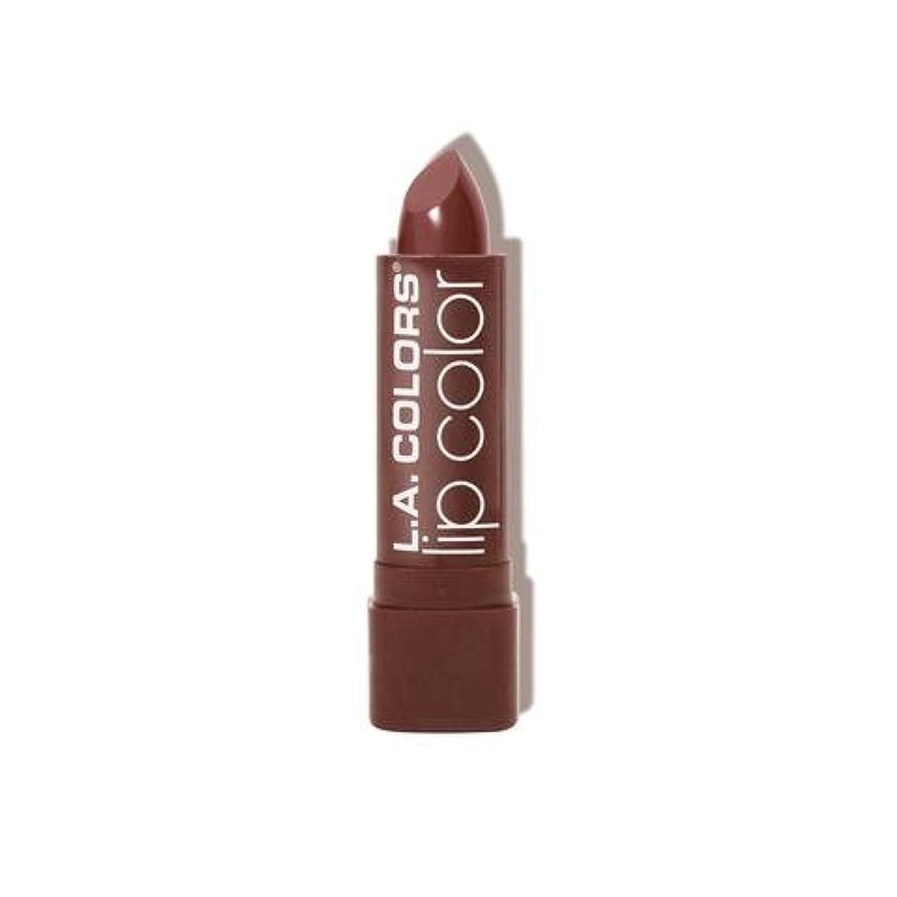 カテナ粘り強い歩く(6 Pack) L.A. COLORS Moisture Rich Lip Color - Taupe Envy (並行輸入品)