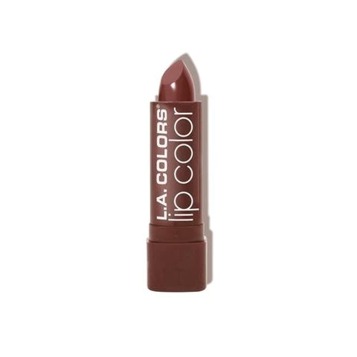 (6 Pack) L.A. COLORS Moisture Rich Lip Color - Taupe Envy (並行輸入品)