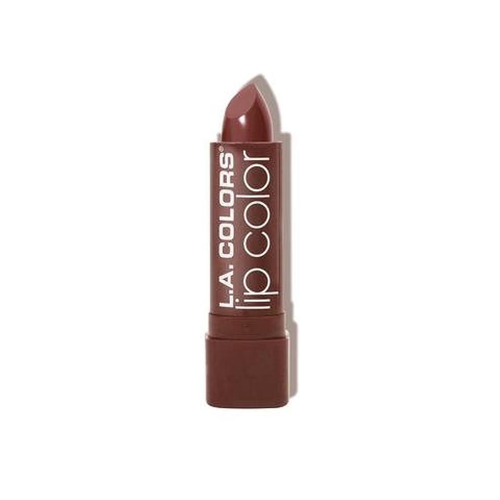 (6 Pack) L.A. COLORS Moisture Rich Lip Color - Taupe Envy (並行輸入品)