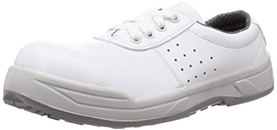 いちゃつく慎重にすることになっている[ノサックス] 静電安全靴 JSAA認定 プロスニーカー 耐滑 静電 KC-3500白 KCシリーズ メンズ