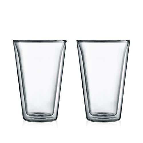 【正規品】 BODUM ボダム CANTEEN ダブルウォールグラス 400ml (2個セット) 10110-10