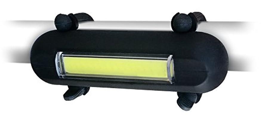 窒素悲惨な正当なClean Motion(クリーンモーション)  自転車ライト Atomic Hotdog Head Light  Black AHH-001