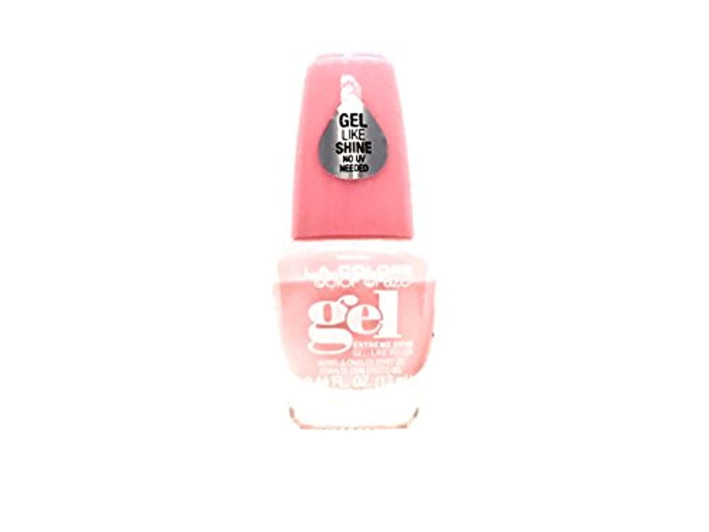 踏みつけ供給動的LA Colors 美容化粧品21 Cnp742美容化粧品21 0.44 fl。 oz。 (13ml) スウィートハート(cnp742)