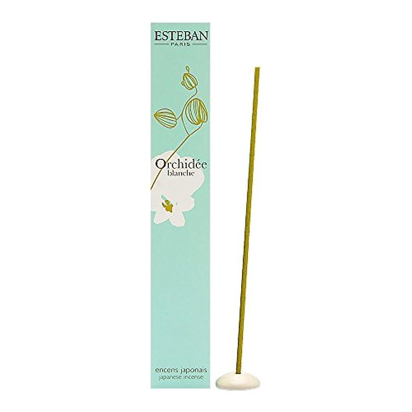 懸念噂十分Esteban Orchidee Blanche 日本のお香スティック お香スティック 40本