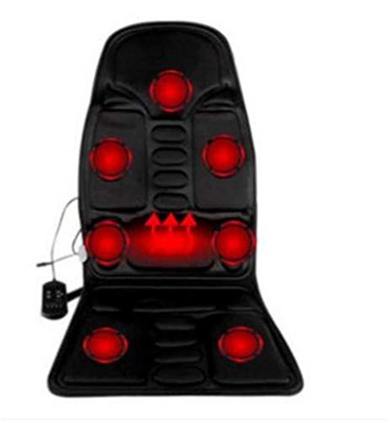 タイマー病トーク電気マッサージクッション、背中のマッサージチェア、車のホームオフィス、全身マッサージクッション、首のマッサージチェア、血液循環を促進するマッサージリラクゼーション
