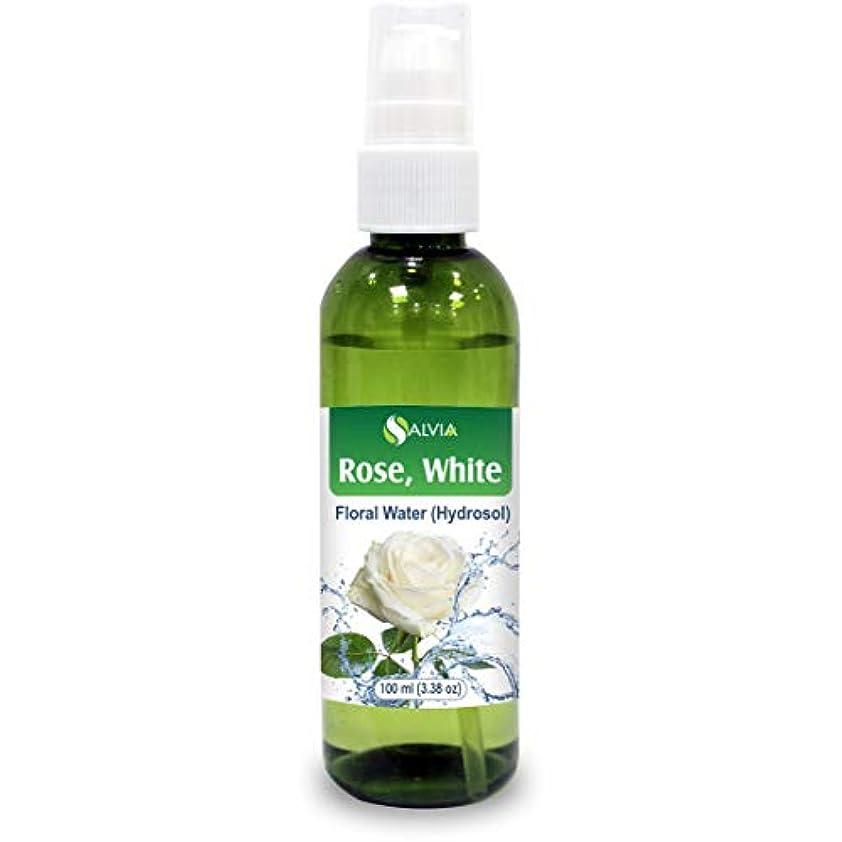 事前に去るすぐにRose White Floral Water 100ml (Hydrosol) 100% Pure And Natural