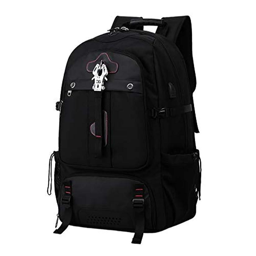 木曜日準備ができて勇気のある旅行屋外バックパックラップトップバッグ防水USB充電ポート大容量リュックサック耐久性のある耐摩耗性