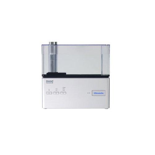 RoomClip商品情報 - moodクレベリンLED搭載超音波式加湿器 (シルバー)