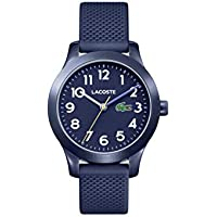 Lacoste Kids' TR90 Quartz Watch with Rubber Strap, Blue, 14 (Model: 2030002)