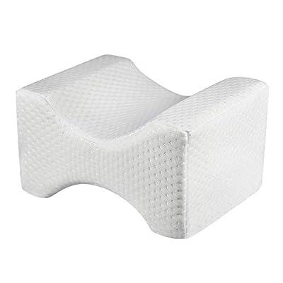 Memory Foam Leg Pillow Leg Cushion Best for Hip Leg Knee Back and Spine Alignment Leg Pad Leg Pillow Support Leg Pillow for Sleeping