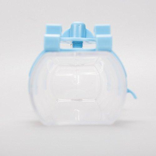 FATPET ペット用ウォーターボトル 500ml自動給水器 便利な犬・猫用ボトル (ブルー)