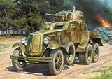 Zvezda # zv6149?/ 1?/ 100ソビエト装甲車BA - 10