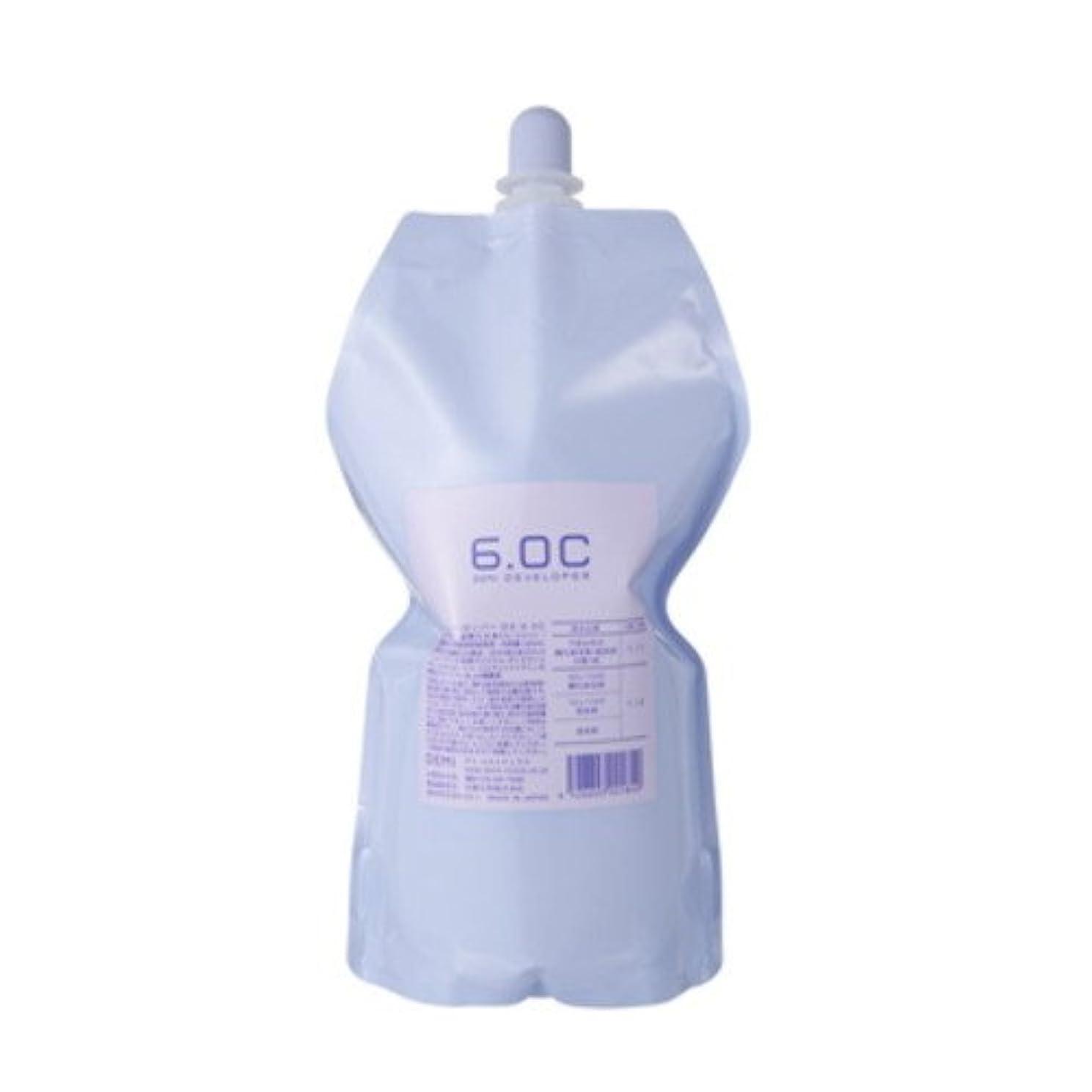 感度上へ遺伝的デミ ディベロッパー オキシ 6.0%(2剤)