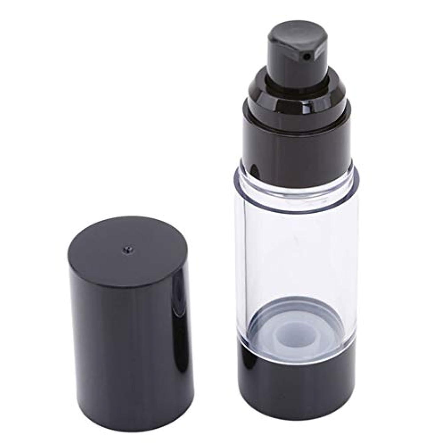 麦芽ジレンマストリップLJSLYJ 真空ポンプ化粧品ボトル旅行ポータブルBBクリームファンデーションプレスミニエマルジョンスプレー空のボトル、30ミリリットル