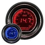 オートゲージ(AUTOGAUGE) EVOシリーズ 空燃比計 52Φ デジタルLCD デジタルメーター ブルー/レッド
