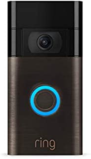 Ring Video Doorbell – 1080p HD video, improved motion detection, easy installation – Venetian Bronze (2020 rel