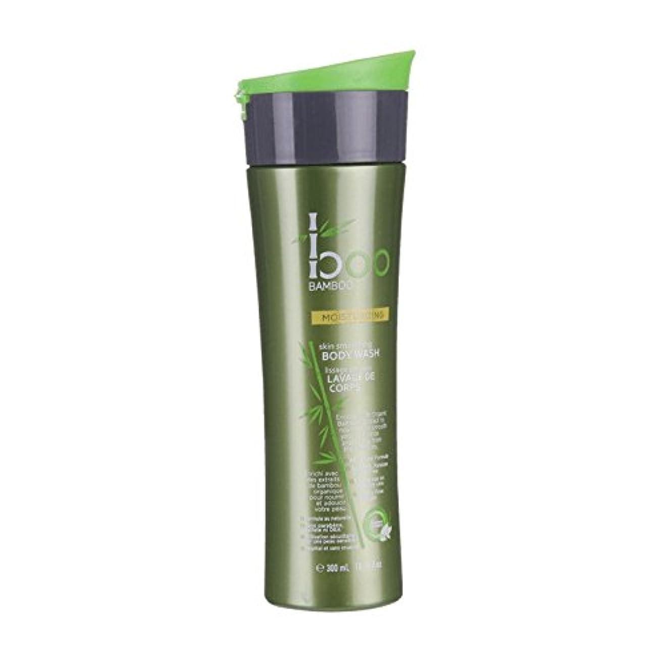 良性番目カナダBoo Bamboo Moist Body Wash 300ml (Pack of 6) - 竹しっとりボディウォッシュ300ミリリットルブーイング (x6) [並行輸入品]