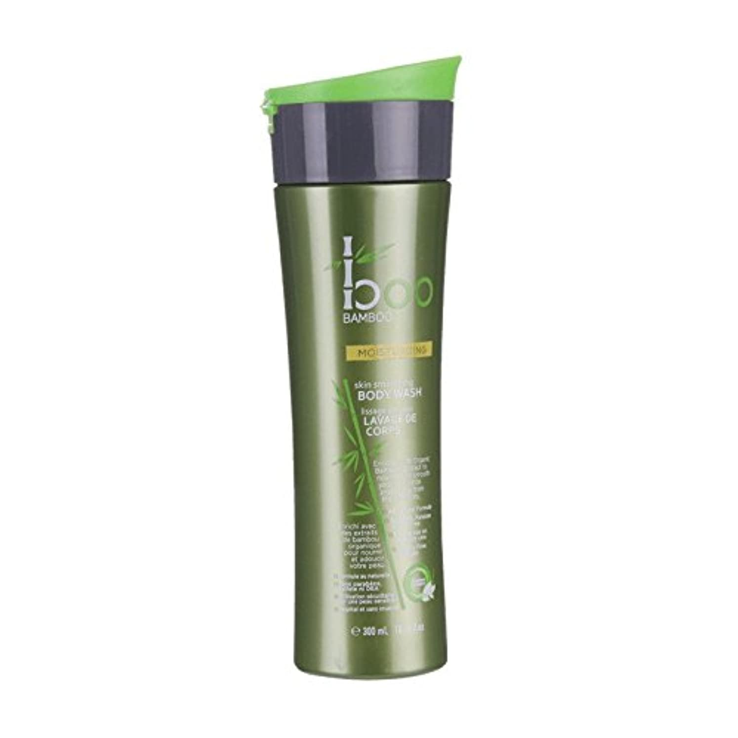 ジョージハンブリーボスいつBoo Bamboo Moist Body Wash 300ml (Pack of 2) - 竹しっとりボディウォッシュ300ミリリットルブーイング (x2) [並行輸入品]