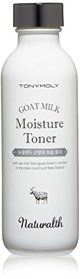 クラック長老倉庫TONY MOLY ナチュラルス 山羊 ミルク 保湿 化粧水 トナー Naturalth Goat Milk Moisture Toner 韓国コスメ 韓国 コスメ トニーモリー