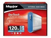 Maxtor A01B120 OneTouch USB 7200 RPM 120 GB External Hard Drive [並行輸入品]