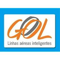 航空ステッカー ブラジル ゴル航空 GOL シール~スーツケース・タブレットPCに