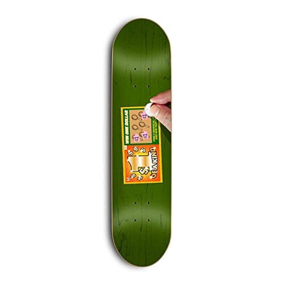 マージン型救出Skate Mental スケートボードデッキ Kleppan Scratcher 8.375インチ