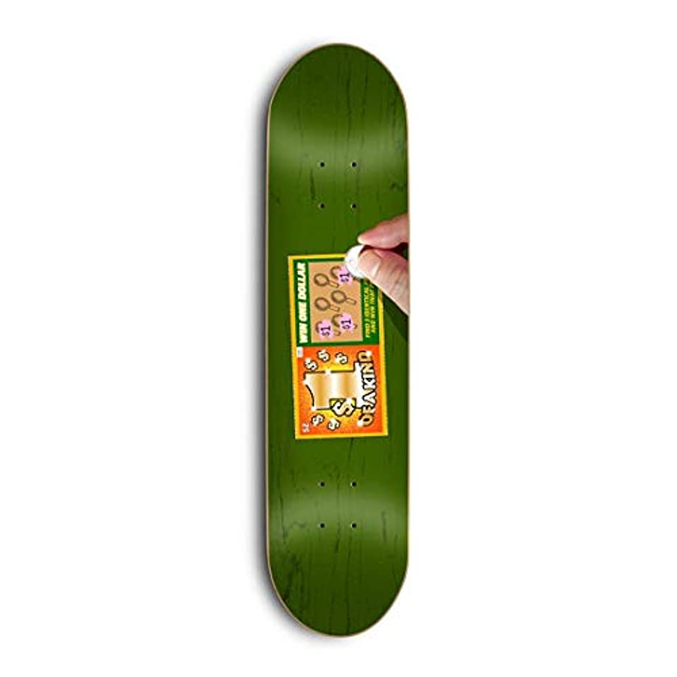粒子供時代回路Skate Mental スケートボードデッキ Kleppan Scratcher 8.375インチ
