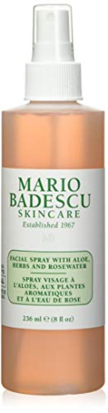 聖職者練習した伴うマリオ バデスク Facial Spray with Aloe, Herbs & Rosewater - For All Skin Types 236ml/8oz並行輸入品