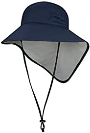 Solbari UPF 50+ Sun Protection Adventure Sun Hat - Universal Fit - UV Protection, Sun Protective