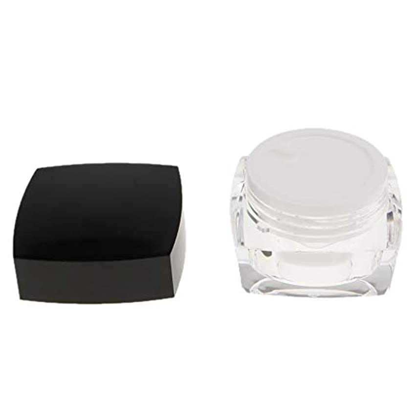 トン同等のそよ風化粧品容器 プロ 容器 メイクアップ クリームジャー 瓶 小分けツール 2サイズ選べ - 30g