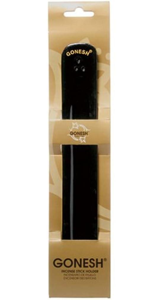 スペイン語鉛解き明かすGONESH Wood Burner Black(お香立て)