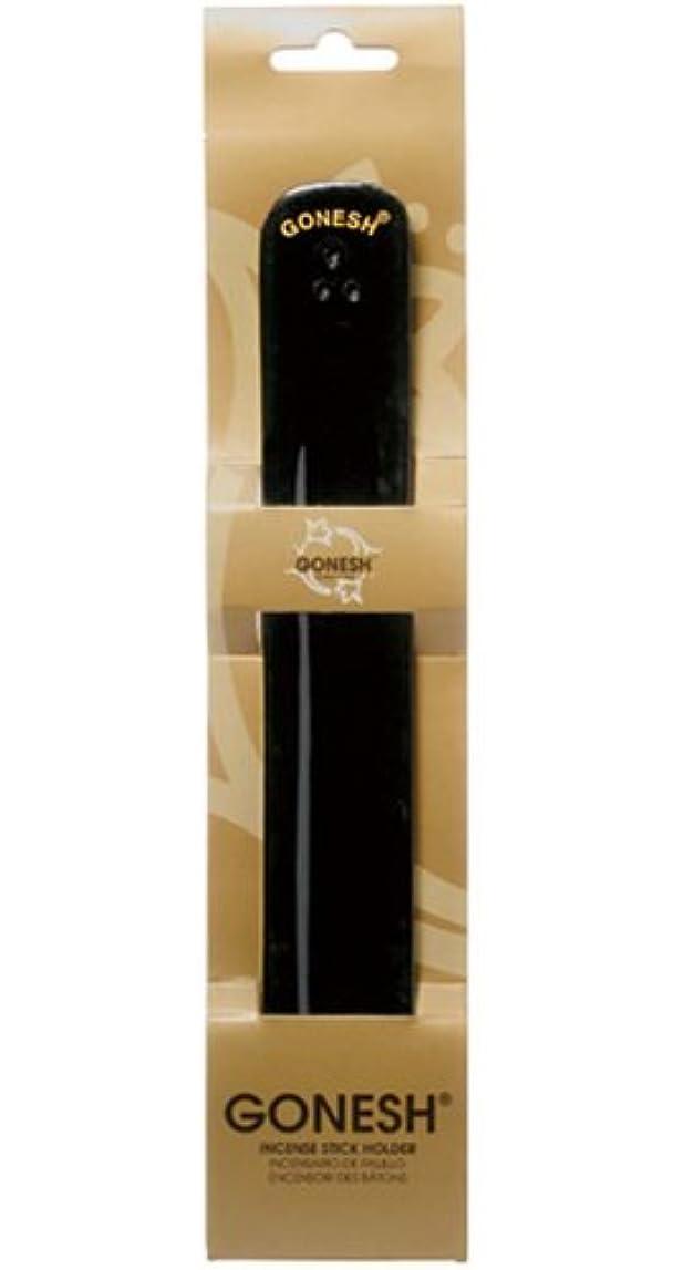 シンポジウム多数のプランターGONESH Wood Burner Black(お香立て)