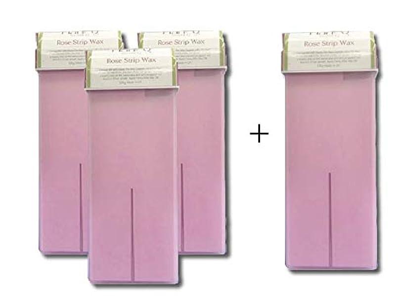 なめらかな簡潔なスプーンセルフローズワックス(100g) 3本セット ブラジリアンワックス