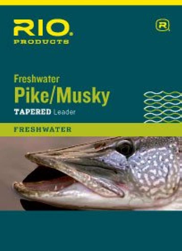 火山学計画的クライアントRio釣り製品Rio Pike/Musky II引出線7.5 Ft、2パック