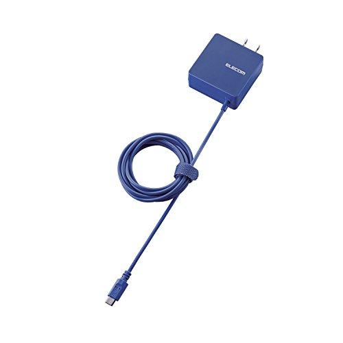 エレコム スマートフォン・タブレット用AC充電器(micro-B) 1.5m ブルー MPA-ACMBC154BU